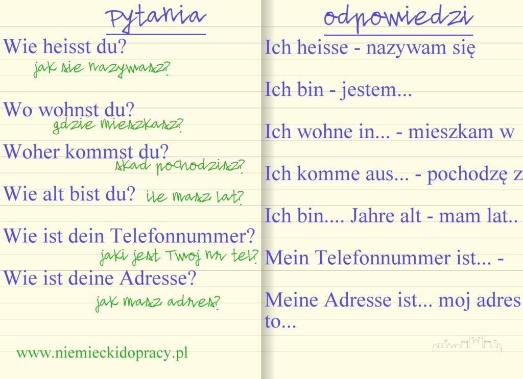 niemiecki zawodowy